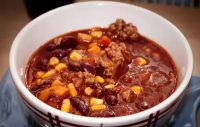 How to thicken chili: One great way is to evaporate away the excess water on low heat.